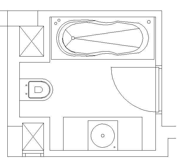 Perfect Hotel Bathroom Design Drawing 609 x 560 · 31 kB · jpeg