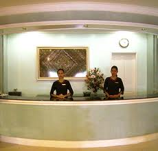 Hotel Design Public Entry Front Desk