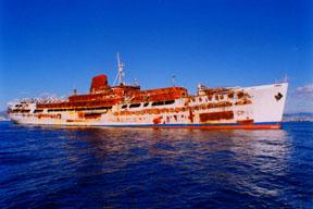 Ms Romantica Ship Fire